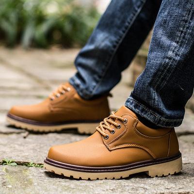 2016春季工装鞋新款男士休闲鞋英伦男鞋子潮流板鞋春款大头皮鞋