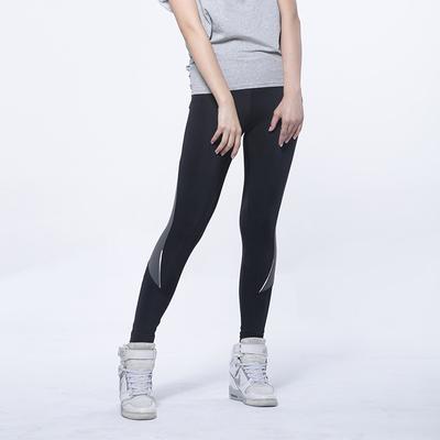 温代诗 运动休闲裤女显瘦薄款九分裤速干运动跑步女紧身健身瑜伽裤 8801