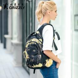 "GRIZZLY原创时尚双肩<span class=""gcolor"">包</span>防水超轻女背包书包休闲运动<span class=""gcolor"">旅行</span>双肩背包"
