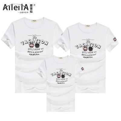 爱蕾拉 2016新款纯棉奥戴尔T恤短袖童装