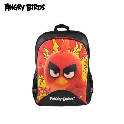 Angrybirds新款儿童小学生减压双肩背包卡通印花大容量书包