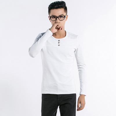 新锐概念 2016新锐概念潮流时尚日韩系列麻棉打底T恤 8827