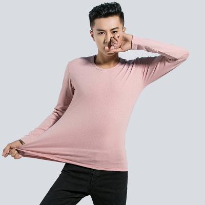 新锐概念 2016新锐概念时尚潮流简约纯色打底圆领长袖T恤 8828