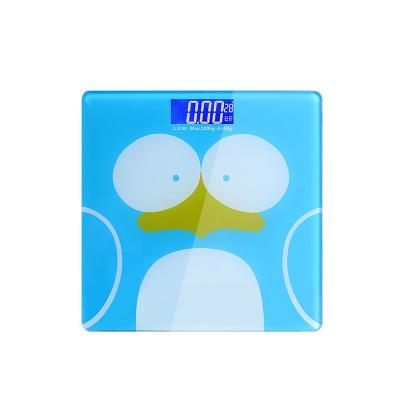 乐七 智能电子体重秤 测体重 精准夜视成人电子秤家用减肥秤