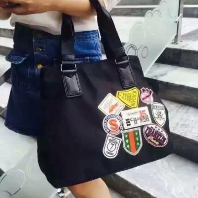 2016秋季新款时尚贴图斜挎包女包潮单肩包