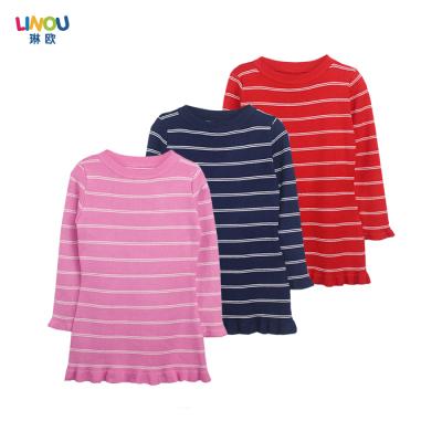 LINOU琳欧 2016新款时尚大包女孩女童针织衫 LOU13