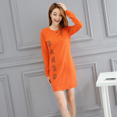 HRJ 好润佳春秋装长裙 160902D