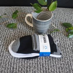 啦果/LAGUO 男士纯棉透气运动袜子(3双装)