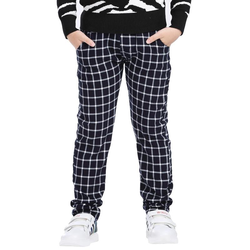 拉狄曼男童格子长裤   602...