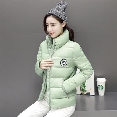 布桂坊2016冬季新款韩版棉衣女装短款棉袄修身羽绒棉服加厚外套3007