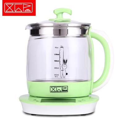 XGP西瓜皮养生壶全自动加厚玻璃烧水壶花茶壶多功能电煮茶器健康养身壶