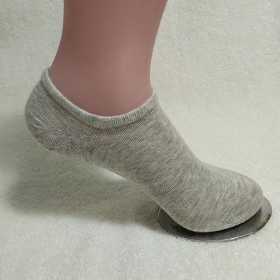 尚御棉 御棉新款简约纯色船袜舒适休闲透气百搭日系全棉短袜两色可选成人袜 W2003