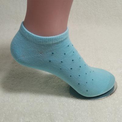 尚御棉御棉新款糖果五色波点休闲女士棉袜吸湿排汗船袜四季可穿居家必备 成人袜 W2004