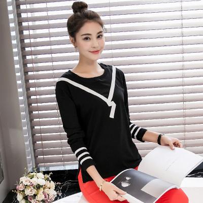 金丽都 2016秋季新款薄款针织衫女套头毛衣修身显瘦长袖 96152