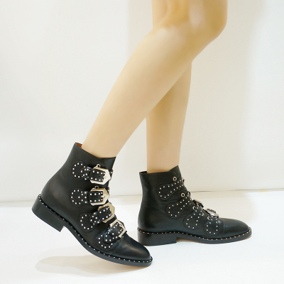 MONROE 2016新款马丁靴朋克柳丁时尚街头短靴 1651-100
