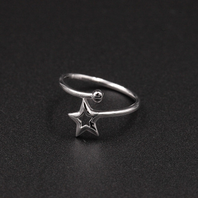 MOSSOVY 星星开口戒指 038