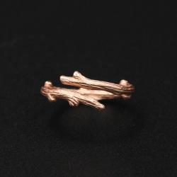 MOSSOVY 树枝戒指(玫瑰金)065
