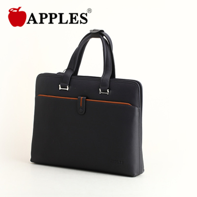 APPLES/苹果 男包商务休闲横款大包 潮男皮包公文包手提包男士 AB59038-5K