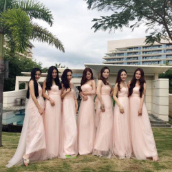 2016新款春季伴娘礼服短款宴会演出服欧美时尚新娘结婚敬酒晚礼服
