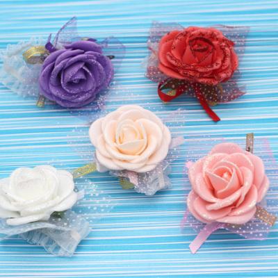 结婚用品 姐妹手腕花 韩式伴娘手花 婚礼手腕带新娘用品