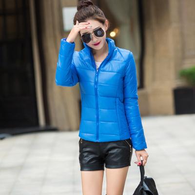 2016冬季新款短款轻薄羽绒服女式立领修身显瘦大码外套上衣棉服潮