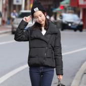 韩美 韩版羽绒棉服加厚短装外套面包服棉袄Oct60310