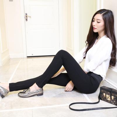佳展 女装2017时尚百搭潮流修身小脚裤 C001