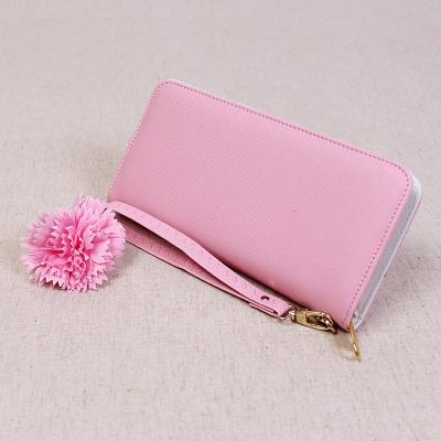 女士钱包中长款2016新款拉链女式手拿包十字纹潮钱夹卡包学生皮夹
