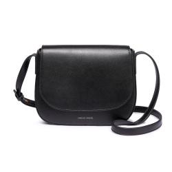 CHJJNY 新款时尚气质女包马鞍包单肩包进口超纤 CH01680-5