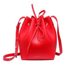 CHJJNY 新款时尚真皮水桶包单肩包进口超纤 CH01680-1