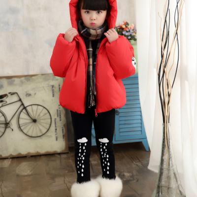 新款中小童2017女童棉衣冬装加厚5棉服男童装棉袄儿童韩版外套