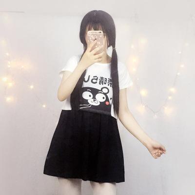 大业春城日系甜美可爱小清新熊本熊上衣套装 012#