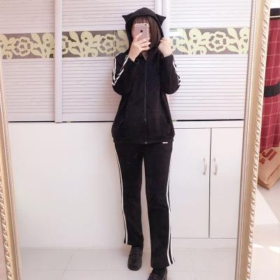 大业春城猫咪伪装者运动套装 027#