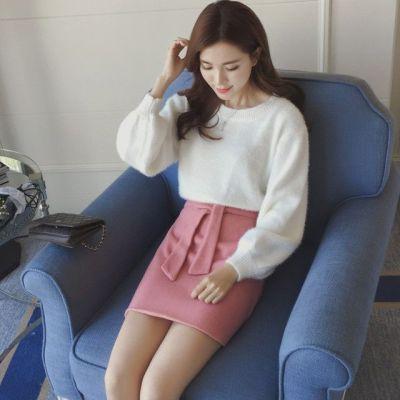 女人志2017春季新款韩版灯笼袖毛衣2256毛衣单件