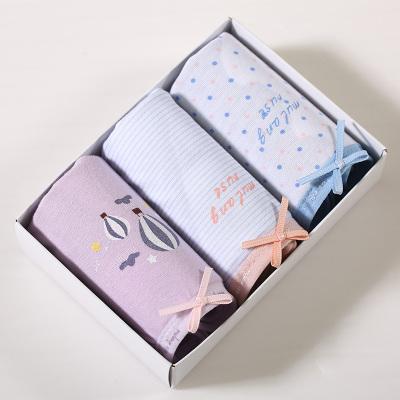 WIDECOTTON 内裤组合套装3条装青春系列中腰三角裤 6002