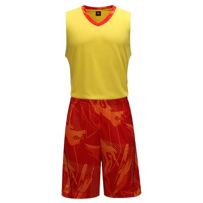 铭斯篮球训练服图腾套装 1007
