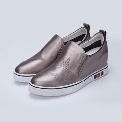 """英吉丽 秋季韩版休闲<span class=""""gcolor"""">鞋</span>厚底内增高深口<span class=""""gcolor"""">高跟</span>女单鞋 33101280"""