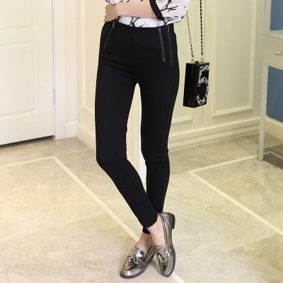 佳展 2017春季时尚女装修身小脚裤 C002