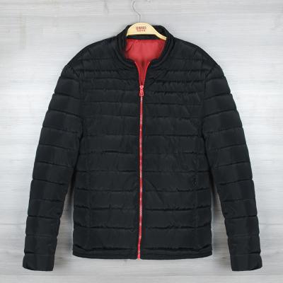 男式青年短款棉衣爆款 韩版男士修身厚款立领棉衣服 男装新款冬季外套 广州海纳制衣厂