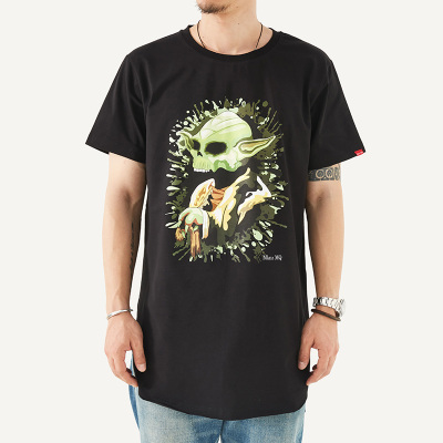 Mknz_MQ 时尚圆领T恤 MQ-09