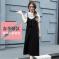 J.S.YU 2018春夏款新款韩版时尚潮流上衣+T恤简约长裙套装  JS8052
