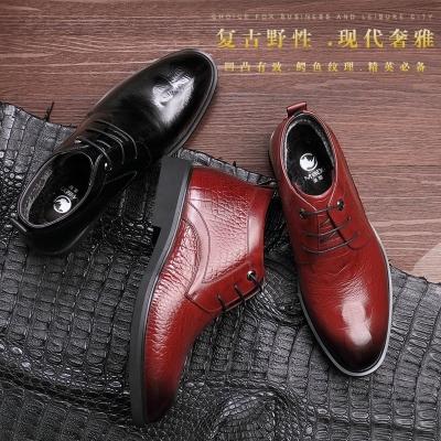 美犀鞋业 英伦时尚透气头层牛皮男士皮鞋 2503388W 2503389W
