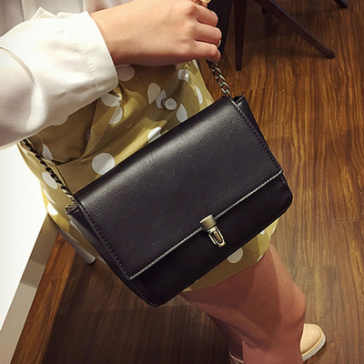 至缘皮具 2016春夏潮新款手提时尚链条包女士单肩包斜挎小包包L007