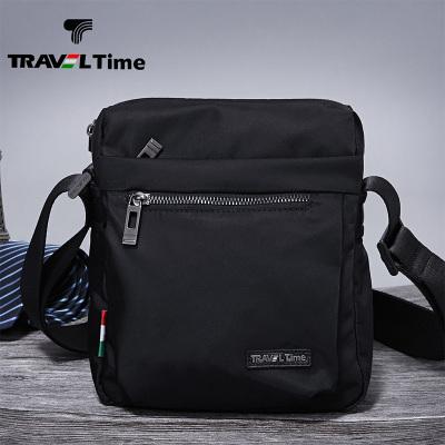 traveltime 男士包包休闲商务竖款单肩包斜挎包小挂包