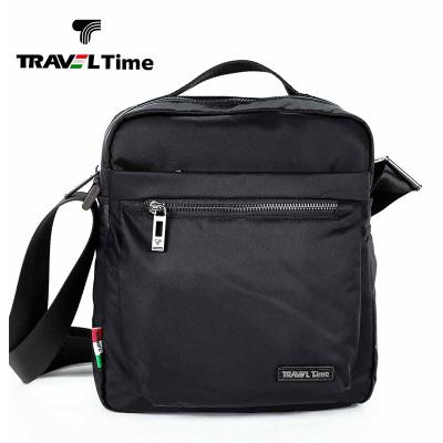 traveltime 男士包包休闲商务竖款手提包单肩包男斜挎包