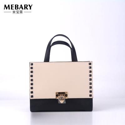 米宝莱 新款时尚手提柳钉女包W016-842