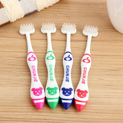 T型竖刷式牙刷(儿童装)CJ001