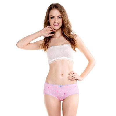 WIDECOTTON 内裤组合套装3条装青春系列中低腰少女内裤 7012
