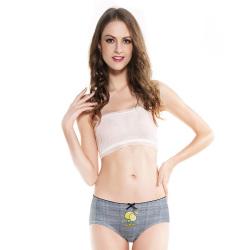 WIDECOTTON 内裤组合套装3条装青春系列中低腰少女内裤  7014