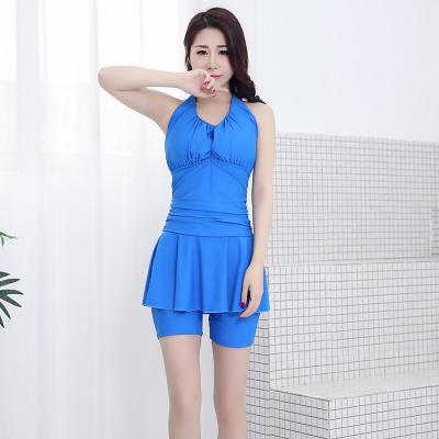 炫浪连体吊带显瘦潮流 泳衣 LT002